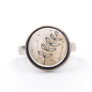 Botanical Sketch Ring