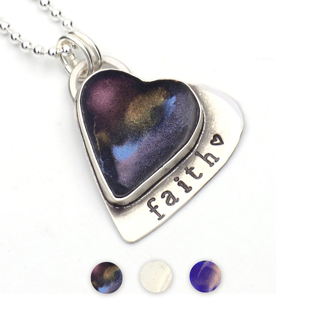 Close to Your Heart Pendant with Word