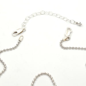 Sterling Silver Bead Chains