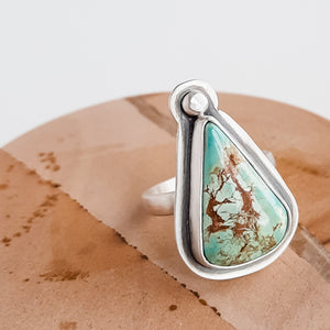 Custom Turquoise Ring for J.