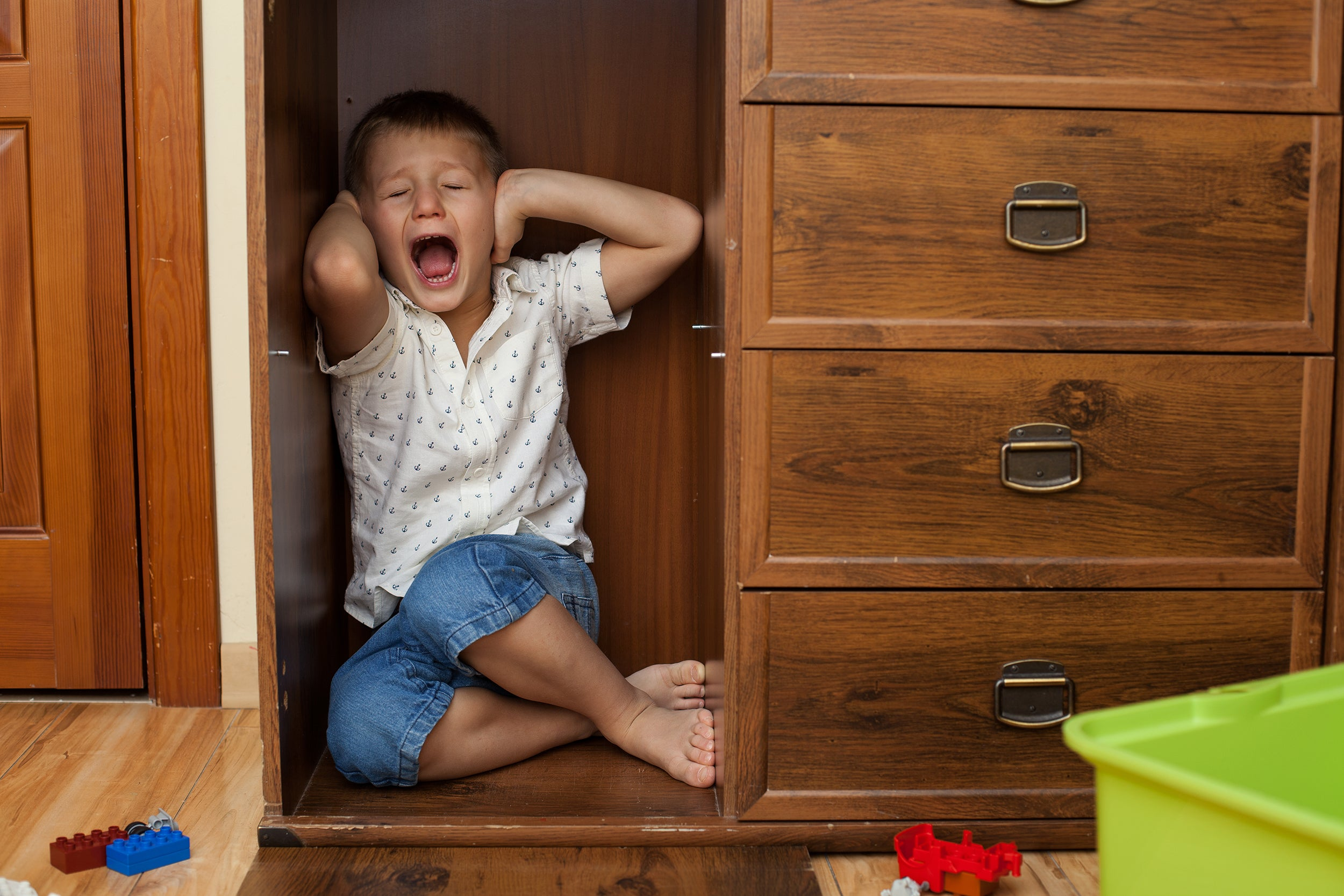 5 Signs of Stress in Children - being aggressive