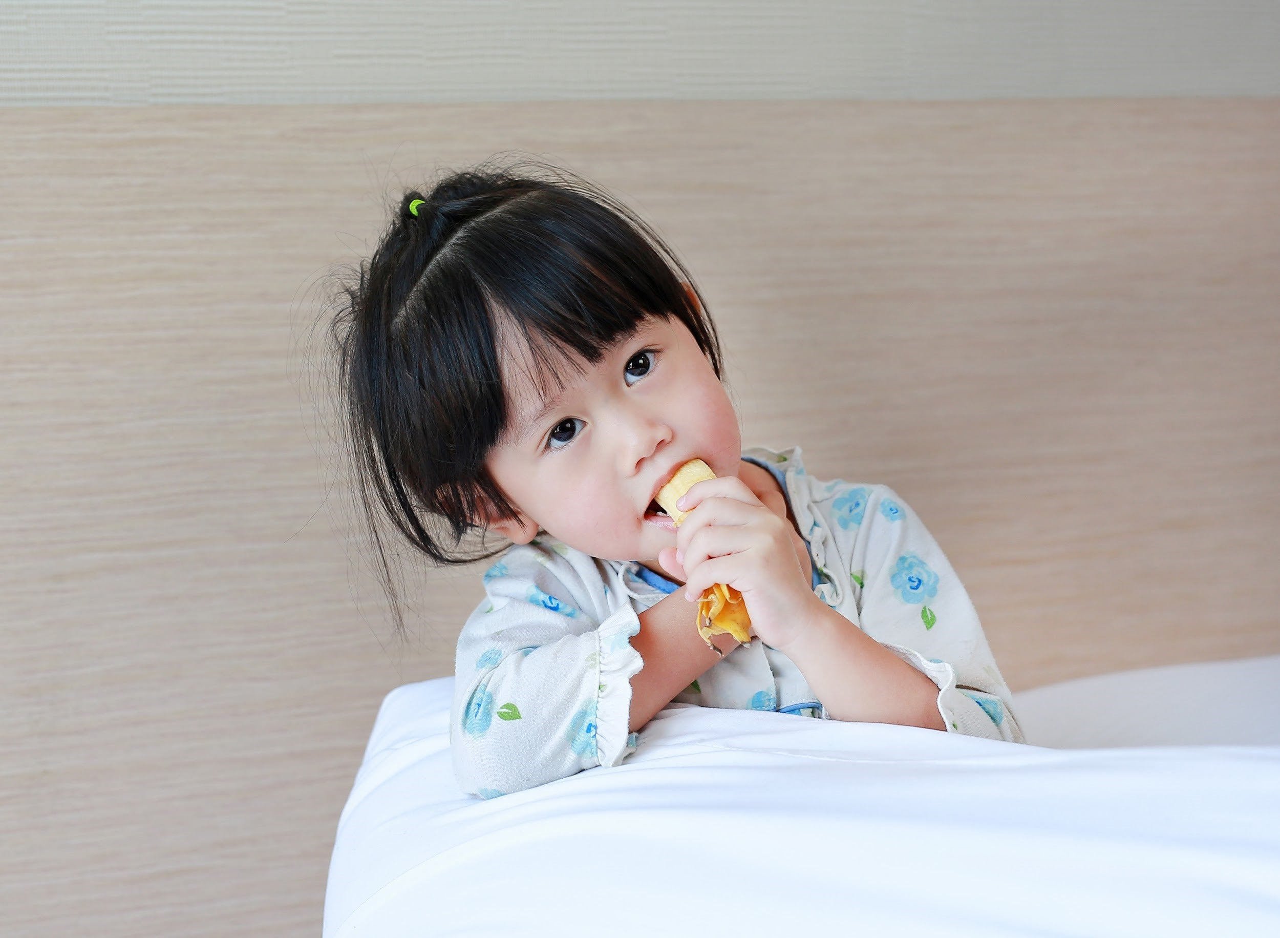 best foods for sick kids by illness - bananas for constipation