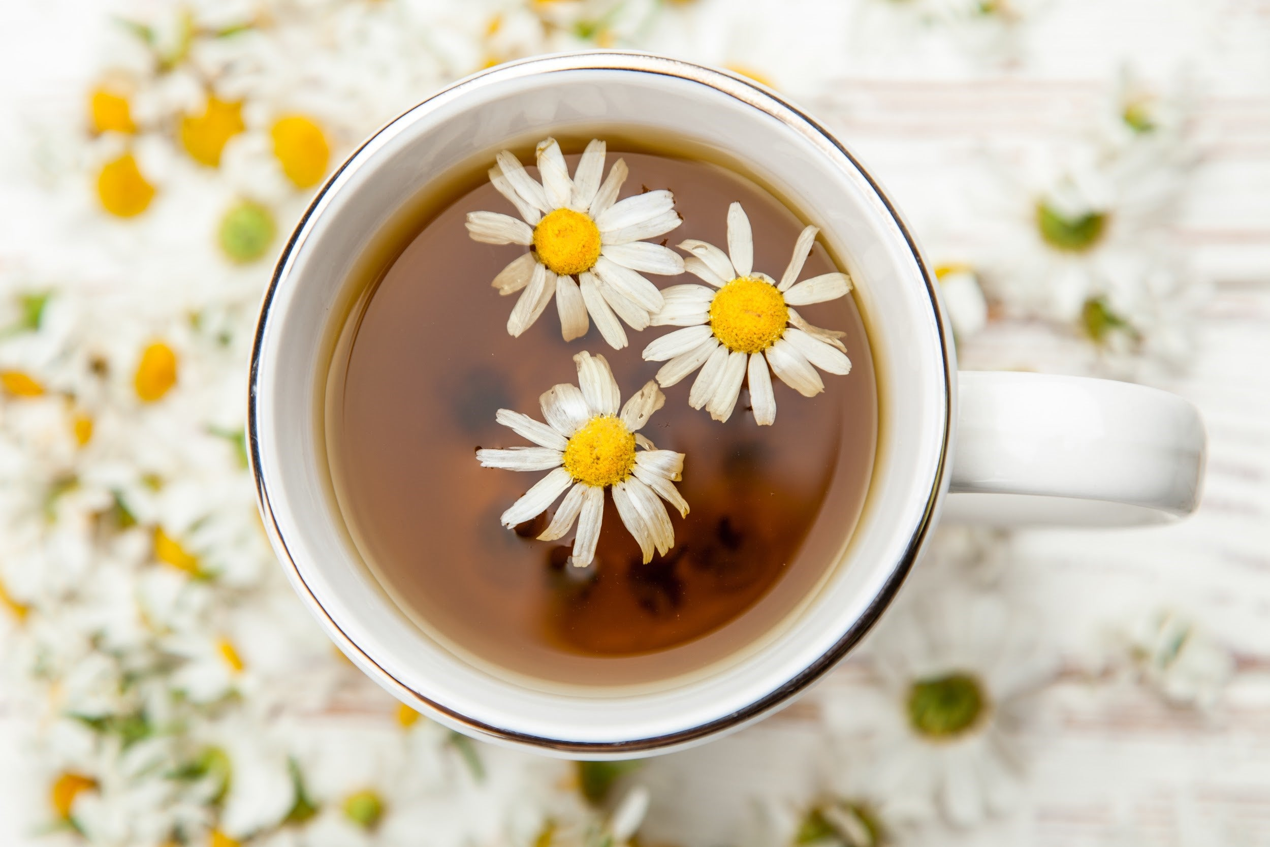 Chamomile to induce sleep