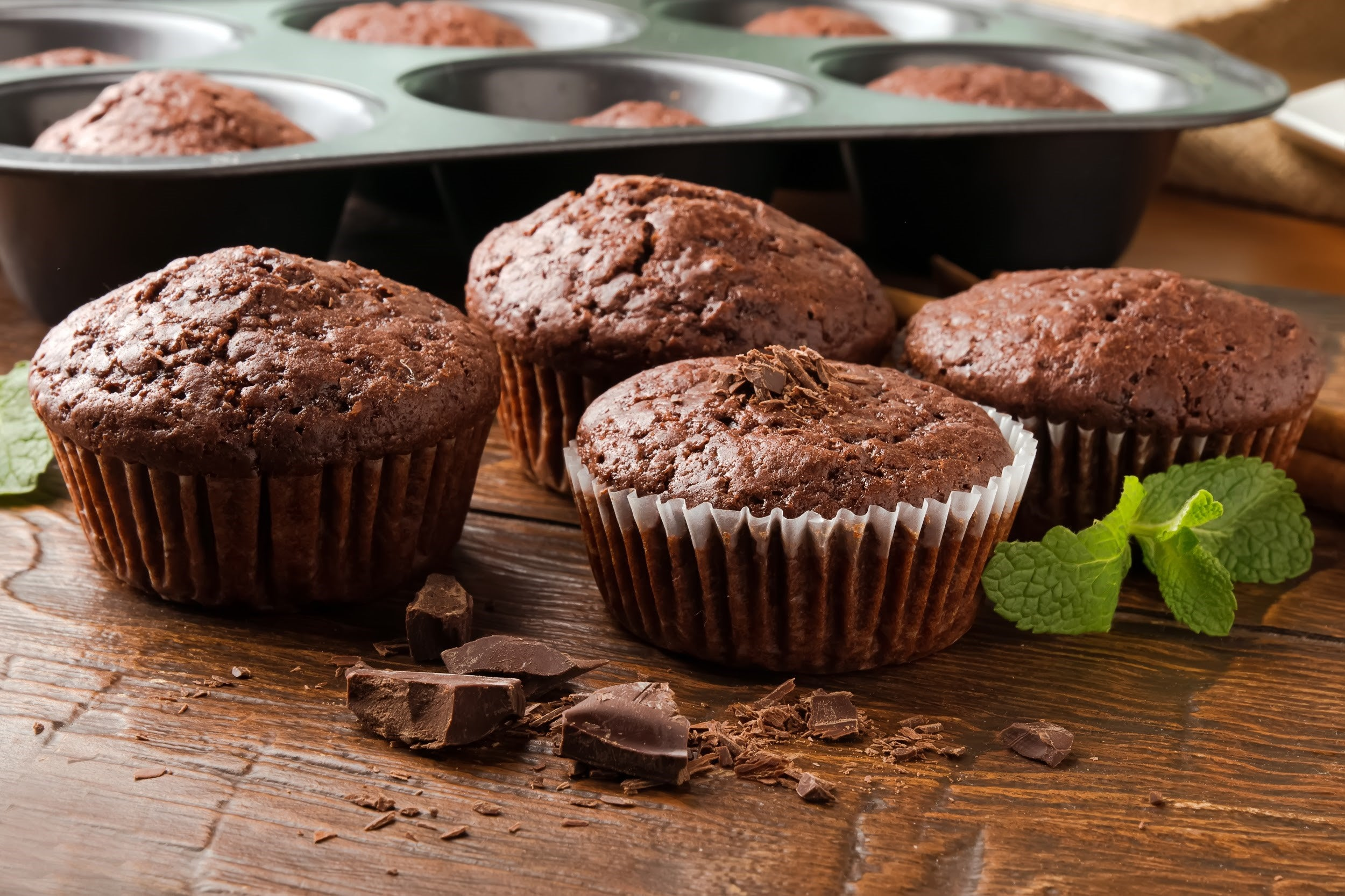 top breakfast recipes for kids with attention deficit disorders - chocolate breakfast muffins