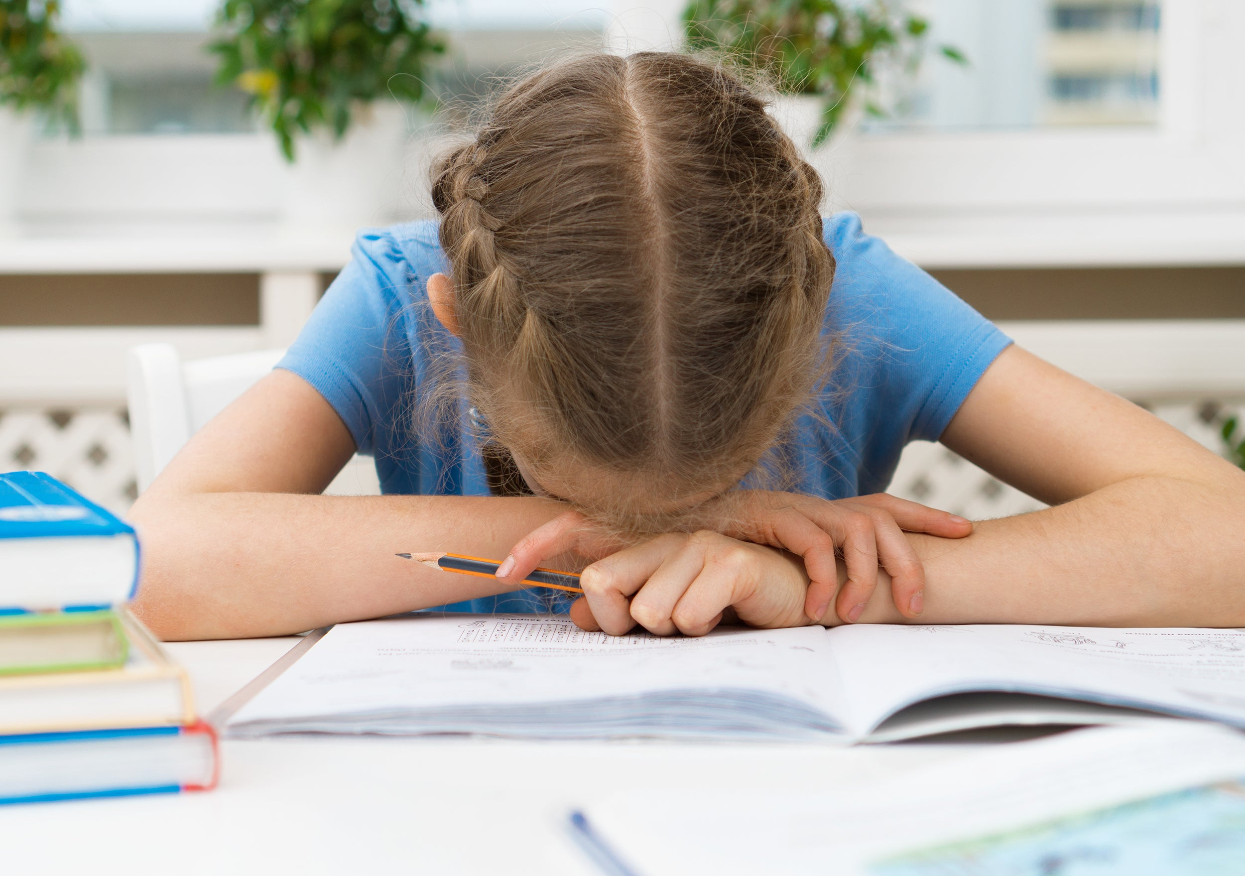 5 Signs of Stress in Children - having difficulty in school