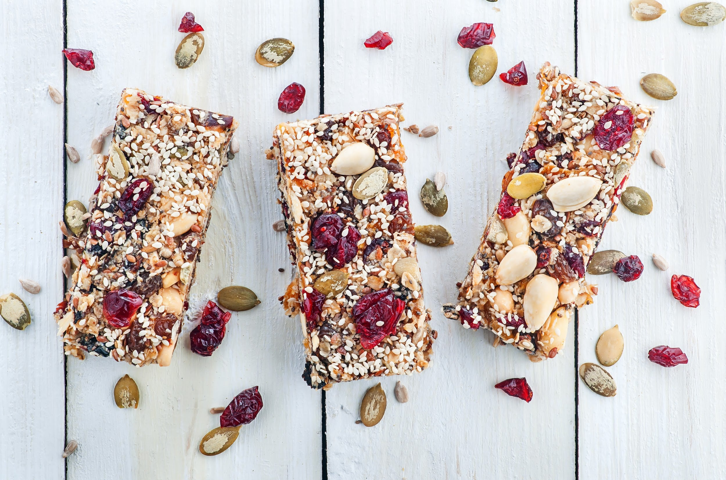 fruit and nuts snack bars for kids