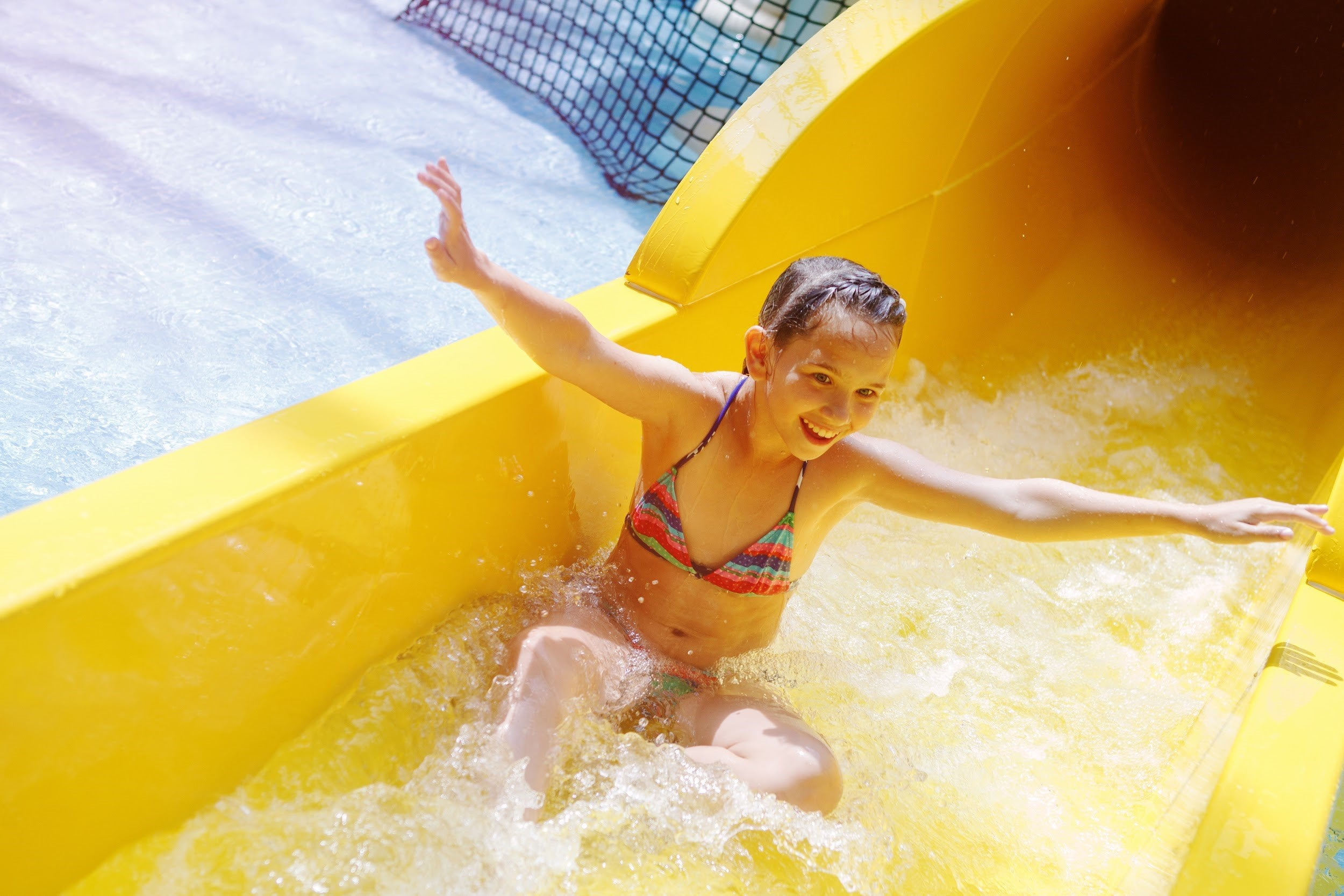 vacation ideas for kids with anxiety - indoor water park