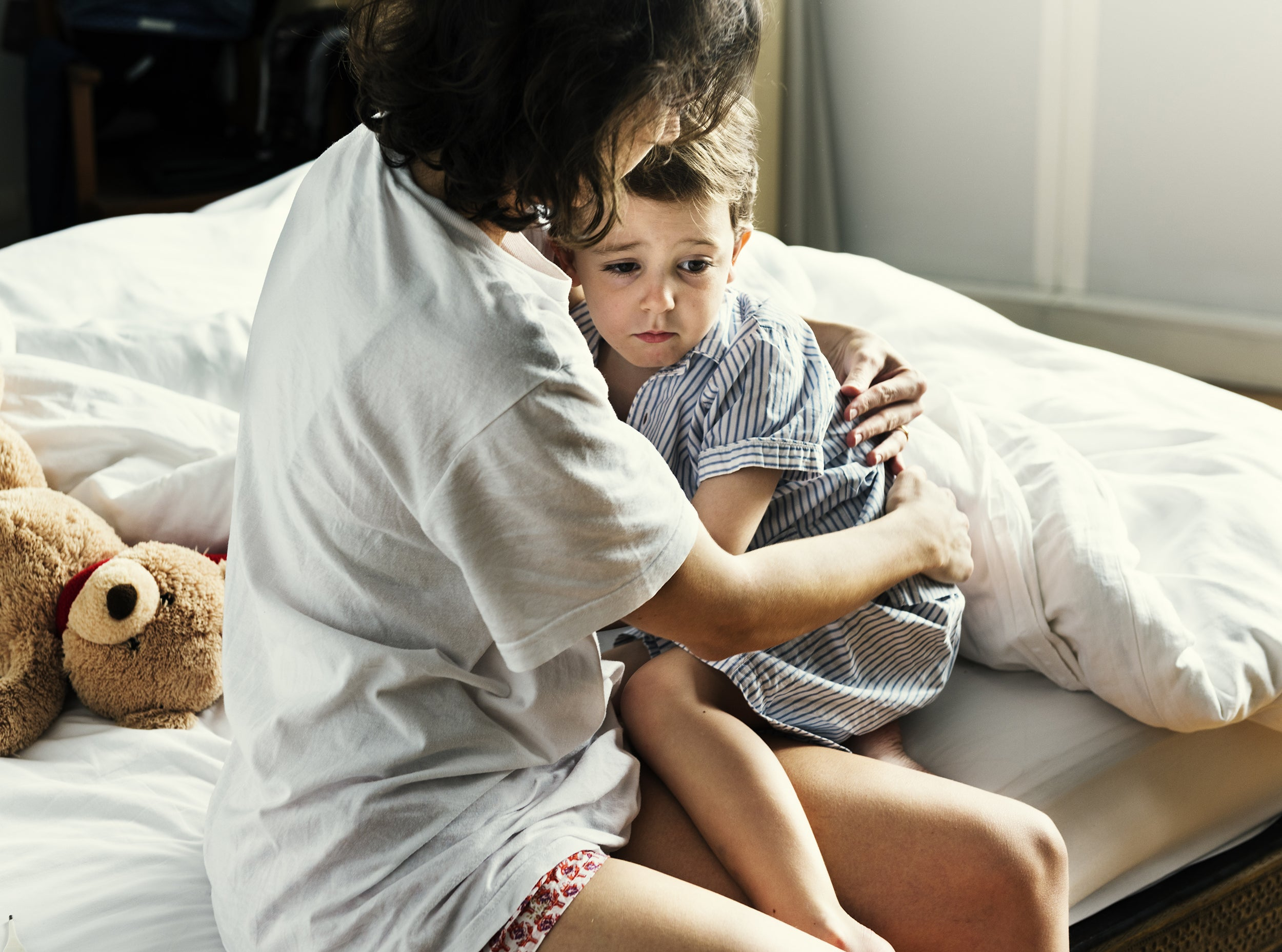 5 Signs of Stress in Children - having nightmares