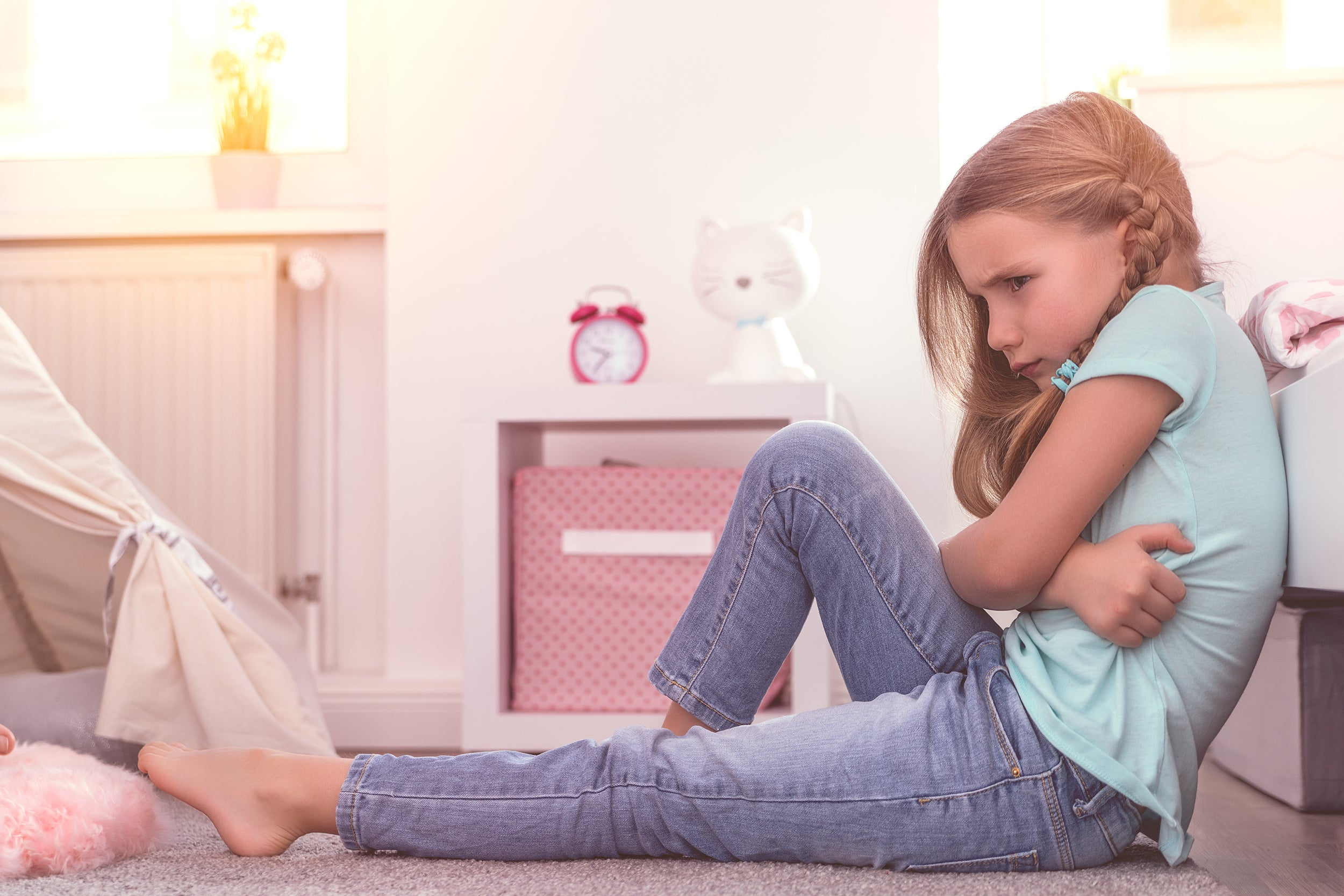 5 Signs of Stress in Children - overreacting to small matters