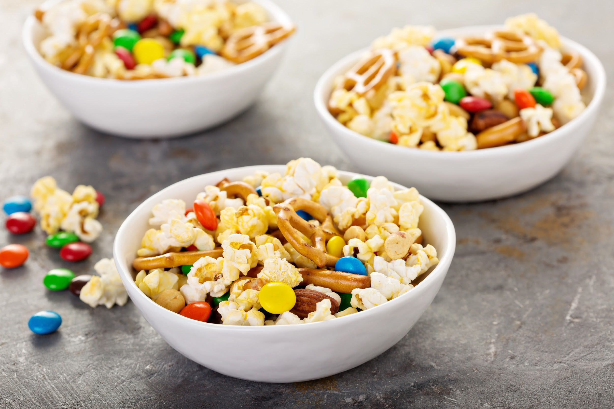 popcorn trail mix for kids