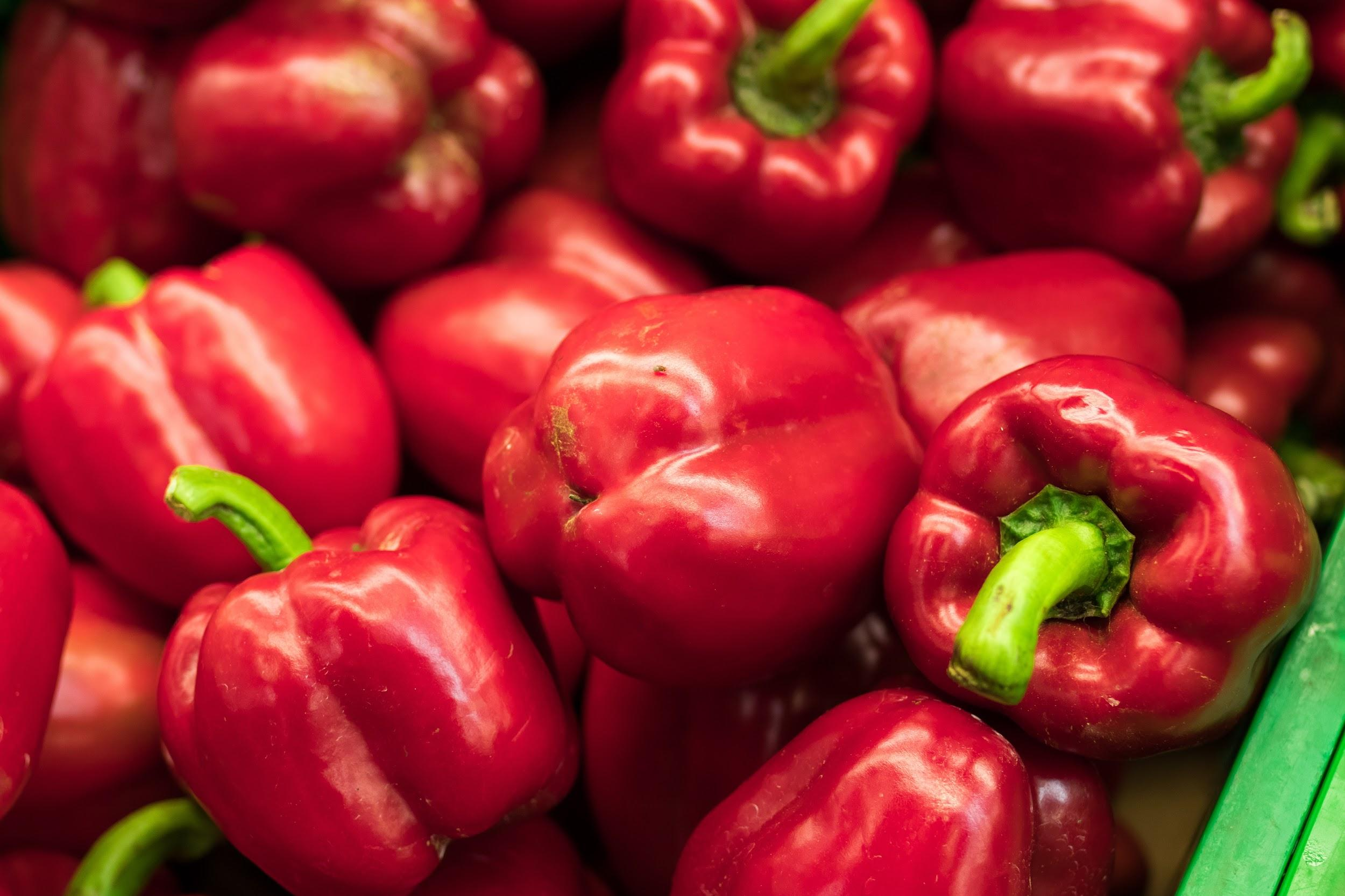red bell peppers: which vegetables do studies show are the best for you