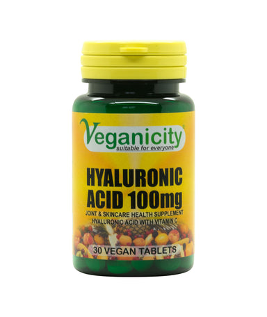Acide Hyaluronique 100mg - Veganicity - Véganie