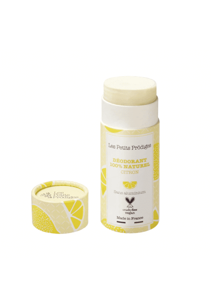 Déodorant naturel biodégradable - Citron - Véganie