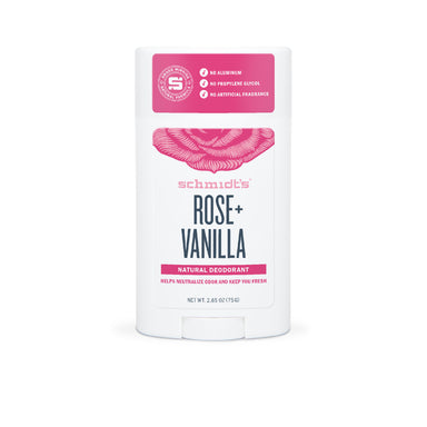 Stick deodorant naturel Rose Vanille - Véganie