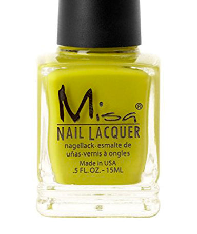 Vernis à ongles Misa : Green With Envy 15ml - Véganie