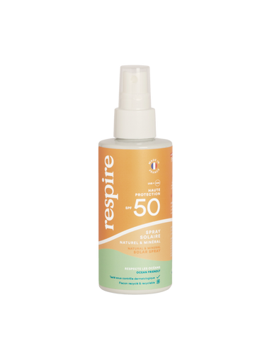 Spray solaire vegan SPF 50 - 120ml - Véganie