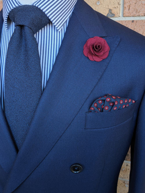 Men's Accessory Bundles | Necktie, Pocket Square, Lapel Flower