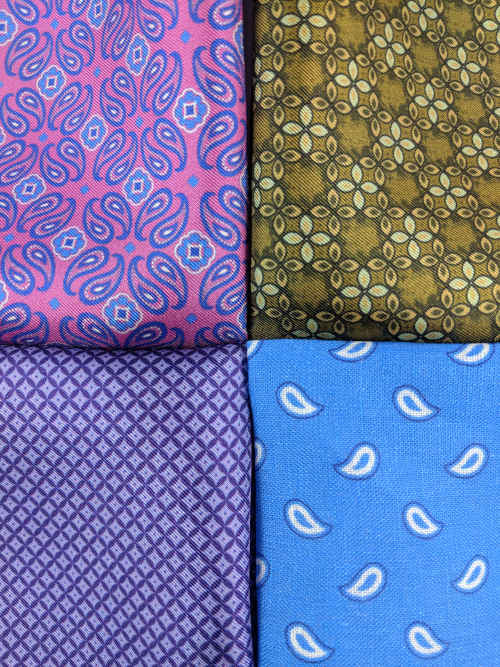 Men's Pocket squares | Silk Pocket Hanks | Brock Alexander