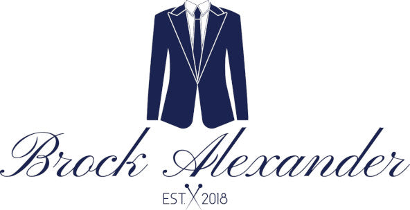 Brock Alexander Logo - Menswear Accessories Australia
