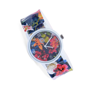 Floral Fade - W Snap Watch