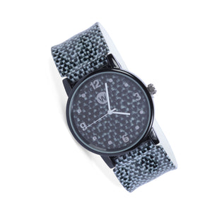 Black Canvas - W Snap Watch