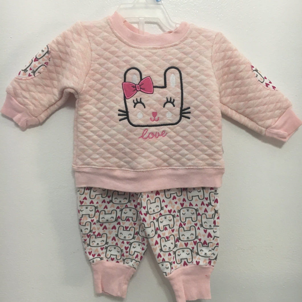 BABY GIRLS OUTFIT (0-3M)