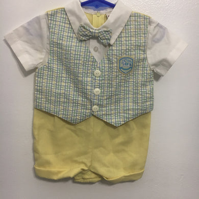 Baby boy outfit Vintage (6-9 M)
