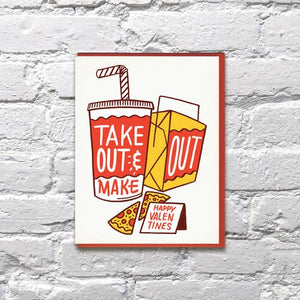 Take Out Valentine's Card