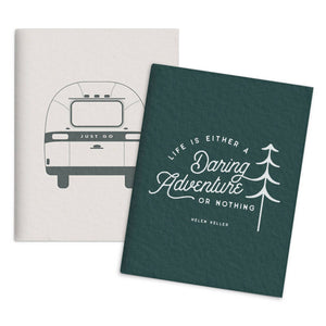 Airstream Daring Adventure Set of 2 Pocket Notebooks