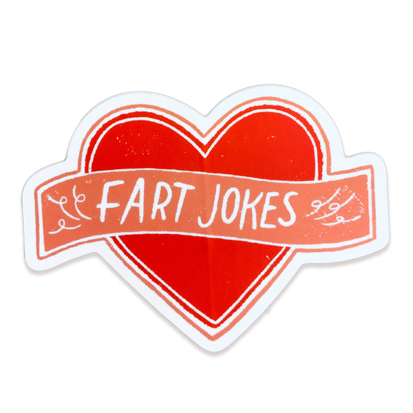 Fart Jokes Sticker