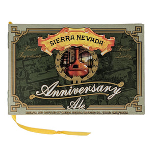 ANNIVERSARY Recycled Beer Book