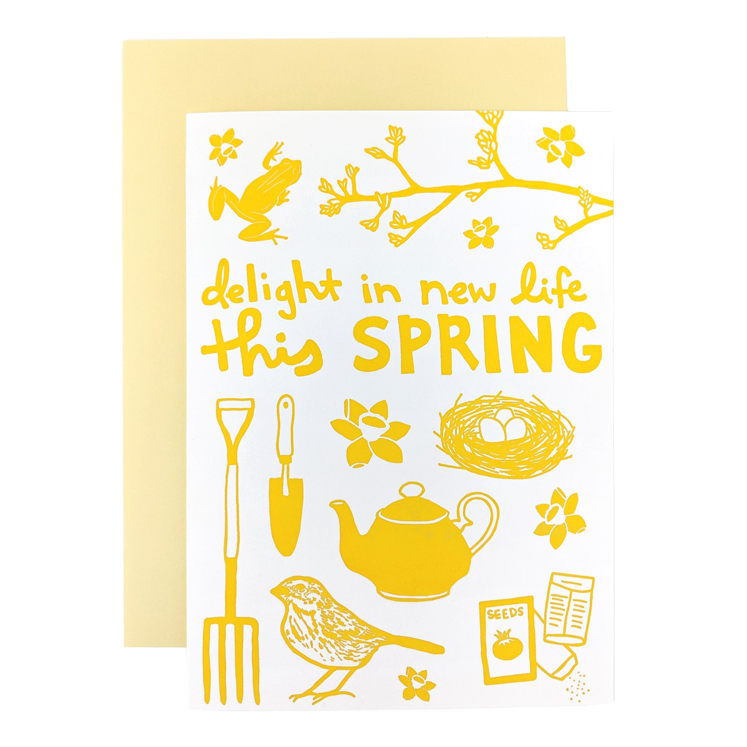 Delight In New Life Card