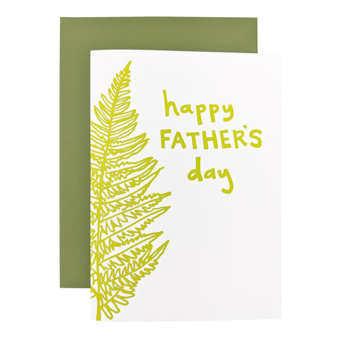 Father's Day Fern Card
