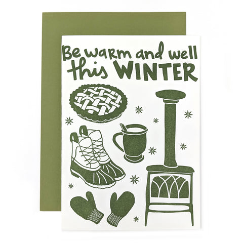 Be Warm and Well Card