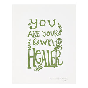 You Are Your Own Healer
