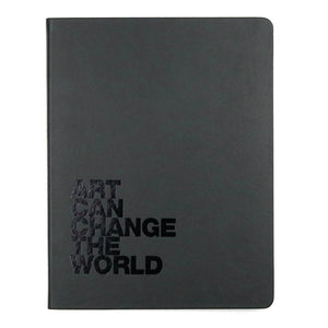 Art Can Change the World Hardcover Large Sketchbook