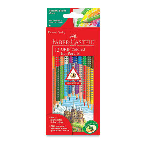 Faber-Castell GRIP Colored EcoPencils, Set of 12