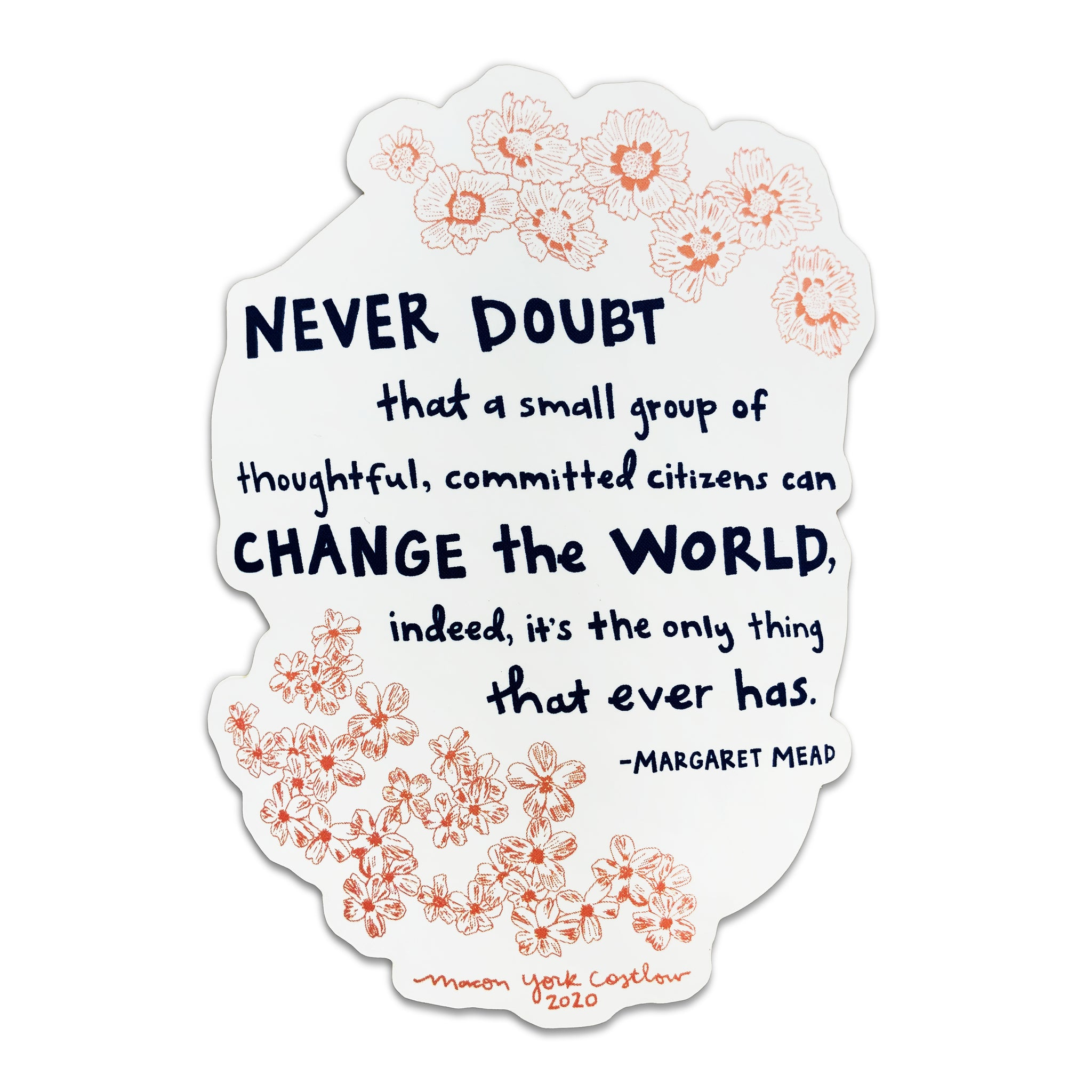 Margaret Mead Sticker