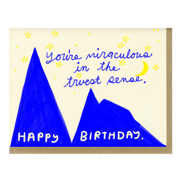 Miraculous Birthday Card