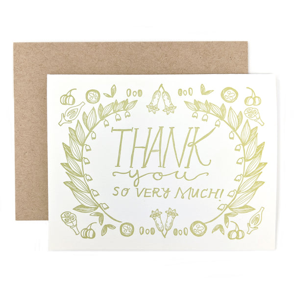 Solomon's Seal Thank You Card