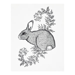 Rabbit With Vines