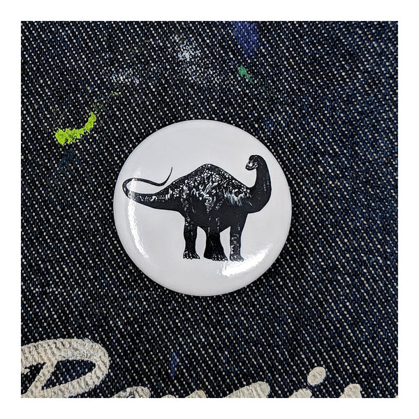 Brachiosaurus Button