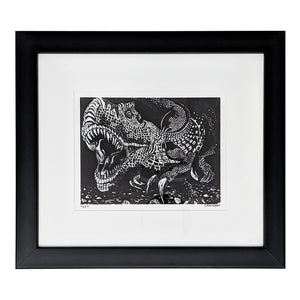 Framed Mini T-Rex