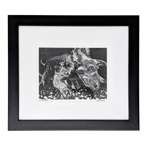 Framed Mini Triceratops
