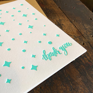Thank Your Lucky Stars Card