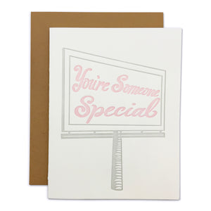 You're Someone Special Card
