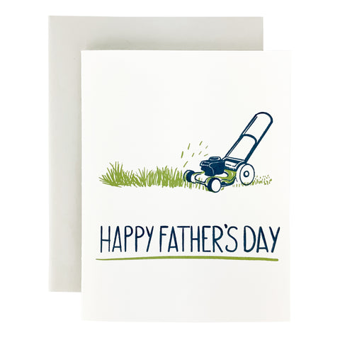 Happy Father's Day Lawn Mower Card