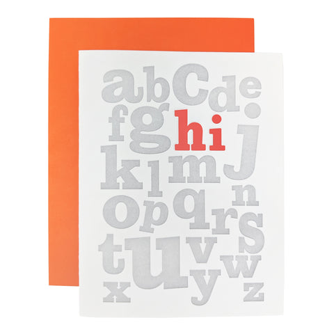 abc Hi Card