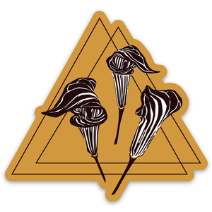 Jack-In-The-Pulpit Sticker