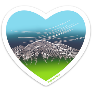 Mountain Heart Sticker